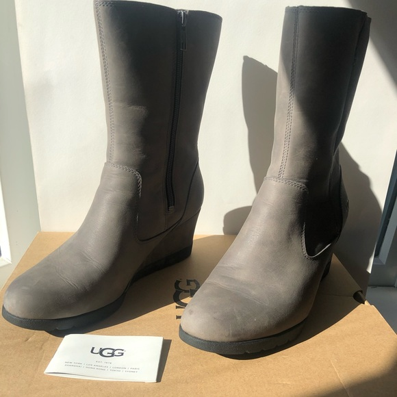 bf92027ff3f UGG Joely Wedge Boots